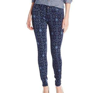 Big Star Mid Rise Pattern Jeans. Sz 31.
